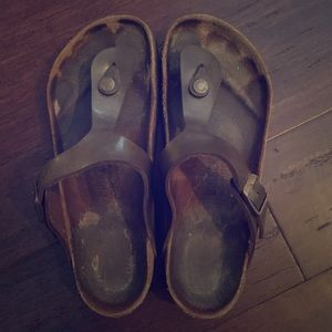 Birkenstock Gizeh sandals. Size 38